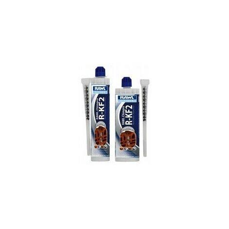 Chimpro r-kf2 : resine polyester réf 4017désignation cartouche 300 ml - ton pierrequantité/boîte