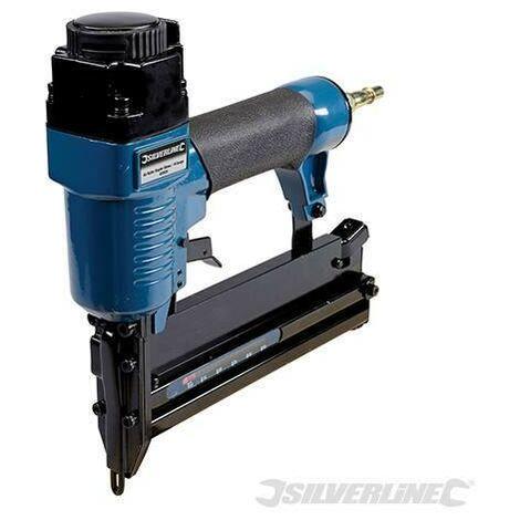 Chiodatrice Graffatrice pneumatica aria calibro 18 Silverline 50mm