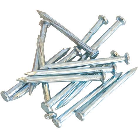 CHIODI a U FISSATELO a TERRA PAPILLON Conf da 20 pz in acciaio zincato