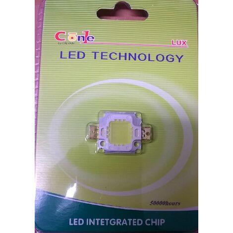 Chip ricambio faro led 10 watt luce fredda accessori ricambi luce illuminazione
