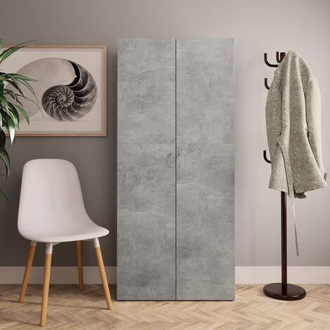 Chipboard 24 Pair Shoe Storage Cabinet by Ivy Bronx - Grey