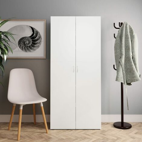 Chipboard 24 Pair Shoe Storage Cabinet by Ivy Bronx - White