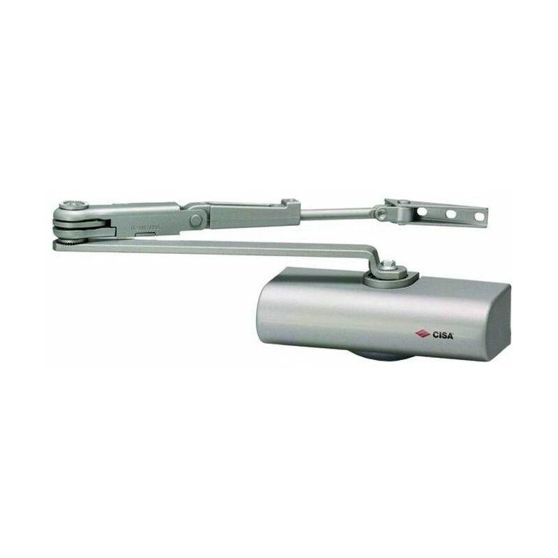 Chiudiporta chiudi senza fermo argento molla chiusura automatica porta YALE CISA