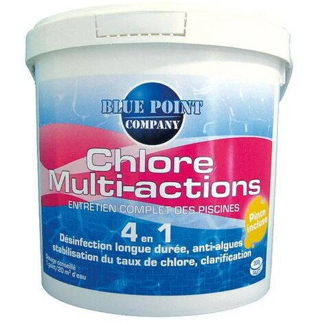 CHLORE 4EN1 MULTIACTION 5KG GALET 250G