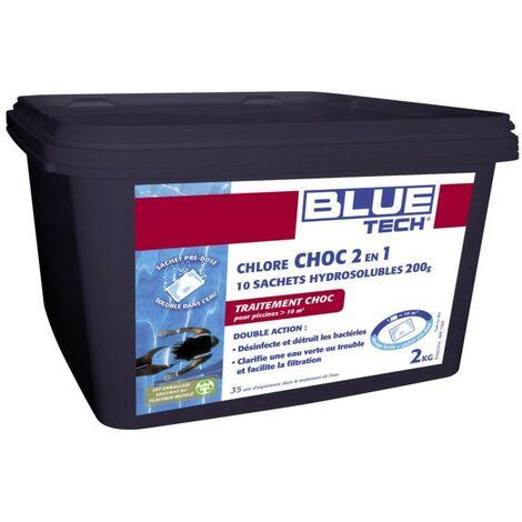 Chlore Choc 2en1 10 sachets de 200gr 2kg