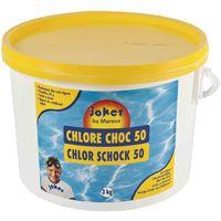 Chlore choc 3 kg en pastille de 20g