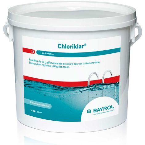 Chlore choc Chloriklar 5 kg