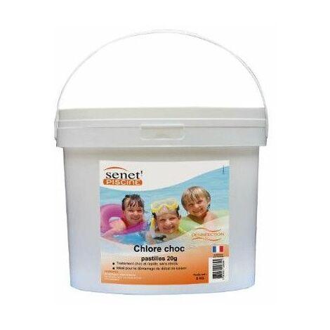 Chlore choc désinfectant - Livraison gratuite