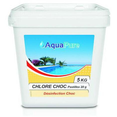 Chlore choc en comprimé de 20 gramme - 5KG