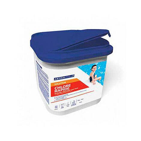 Chlore choc en granulé 5 kg - 720005 - Aqua Soleil - -