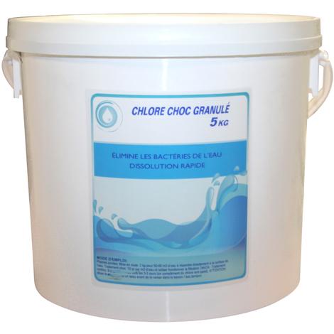 Chlore choc en granulés
