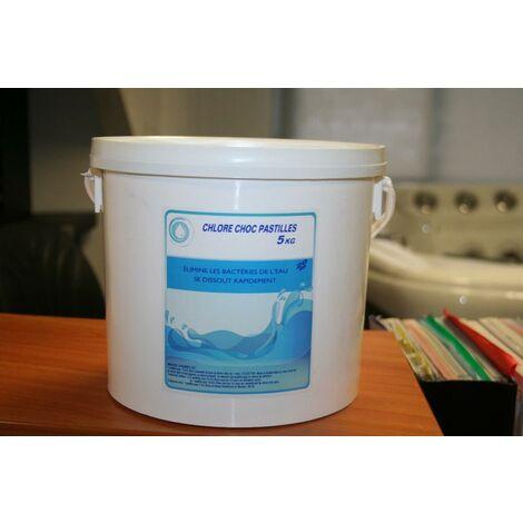 Chlore Choc - En pastille - Seau de 5 kg - 47318PE/FB005P00