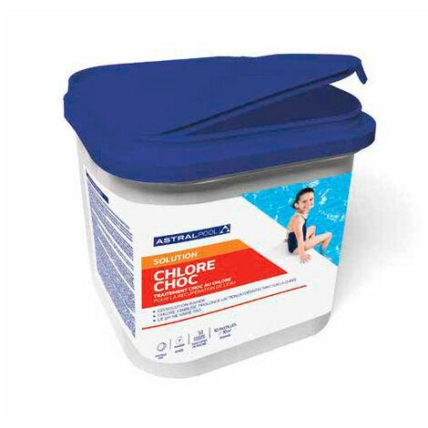 Chlore choc en pastilles de 20 g - 5 kg AstralPool