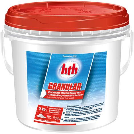 Chlore choc Granular 5 kg - HTH