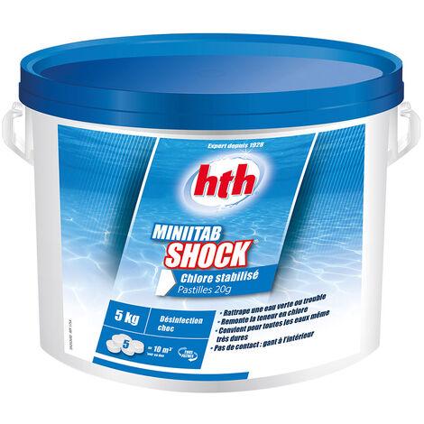 Chlore choc Minitab Shock 5 kg - HTH