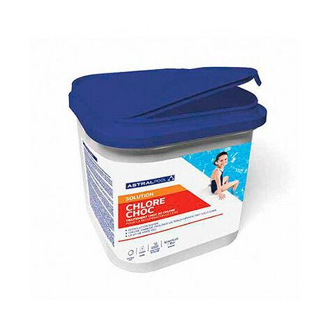 Chlore choc pastilles de 20 gr trichloré 55% 5kg - 725005 - Aqua Soleil - -