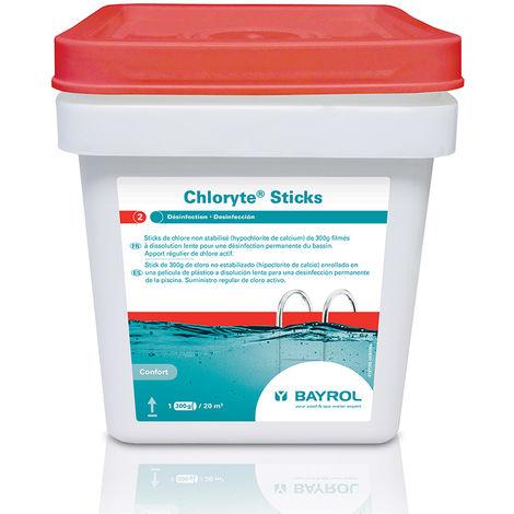 Chlore choc sans stabilisant en stick Chloryte 4,50 kg - Bayrol