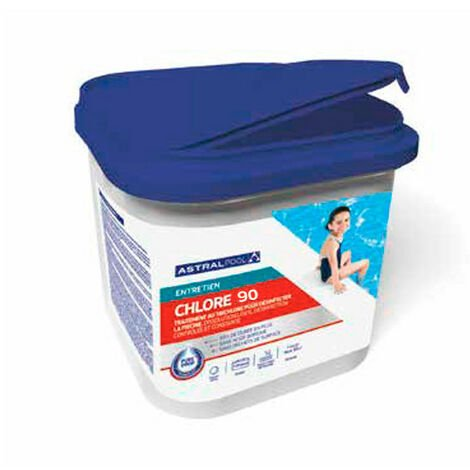 Chlore en granulé 90 - 5 kg AstralPool