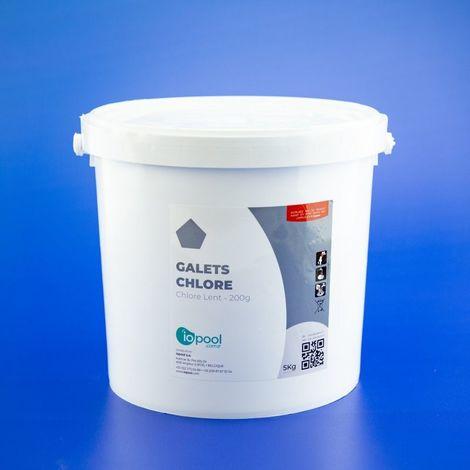 Chlore lent - 5 kg - iopool