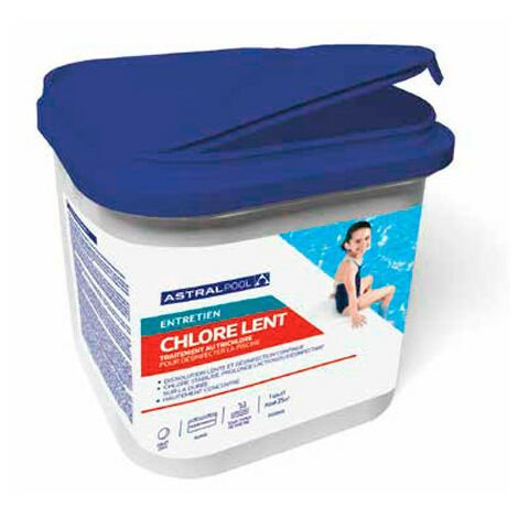 Chlore lent en galet de 250 g - 25 kg AstralPool