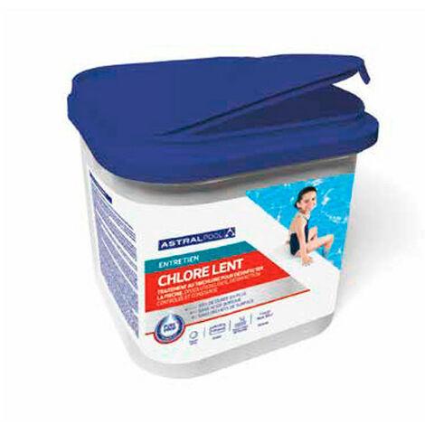Chlore lent sans acide borique en pastilles de 20 g - 4 kg AstralPool - -