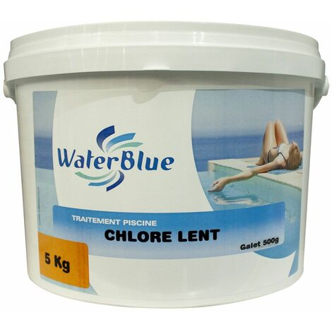 Chlore lent waterblue galets 500g - 10kg