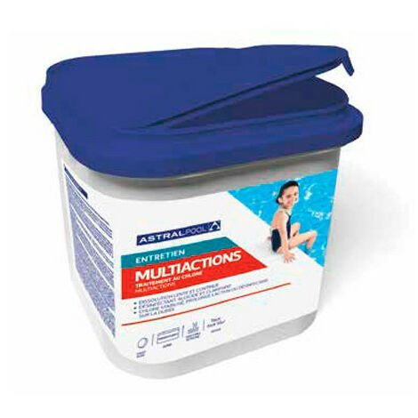 Chlore multiactions en galet 250 g - 5 kg AstralPool
