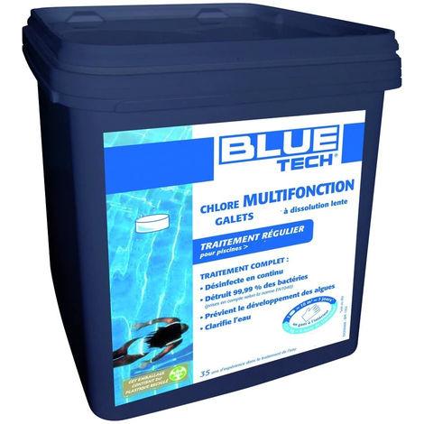 Chlore multifonction 25 galets de 200gr 5kg