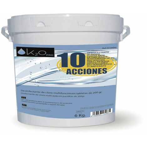 Chlore Multifonction K2O 10 Actions 5 Kg - K1027Q