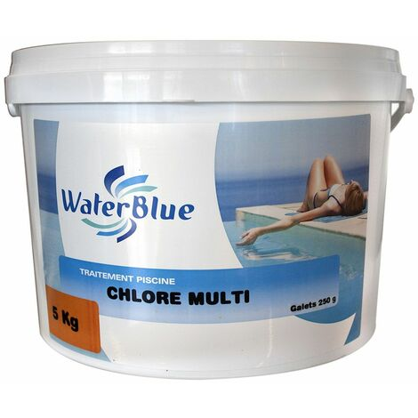Chlore multifonctions 250 gr - 40 kg