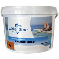 Chlore multifonctions waterblue galets 500g - 20kg