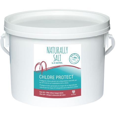 Chlore Protect Naturally salt Bayrol. 6 unidades