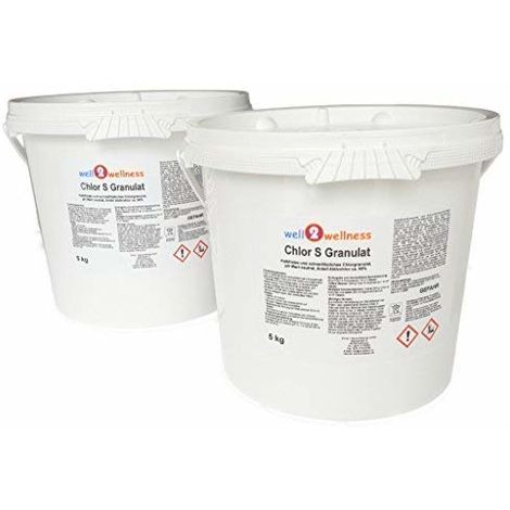 Chlorgranulat schnell löslich 10 kg (2 x 5 kg)