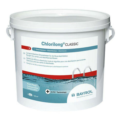Chlorilong Classic BAYROL - 250g slowly dissolving rollers
