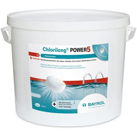 Chlorilong Power 5 - 10 kg de Bayrol - Produits chimiques