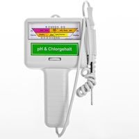 Chlorine PH CL2 Meter for Pool Spa Water Quality Tester