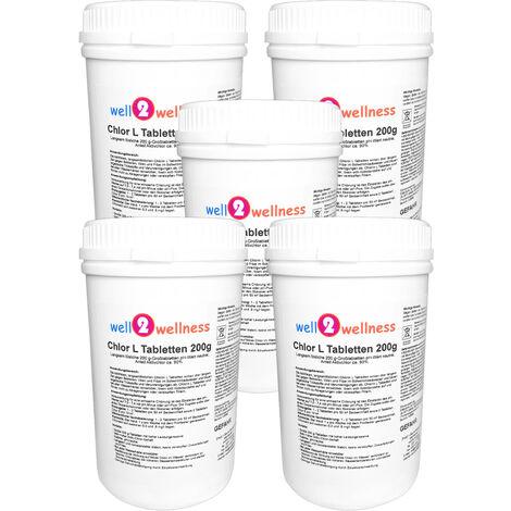 Chlortabletten 200g langsam löslich 5,0 kg