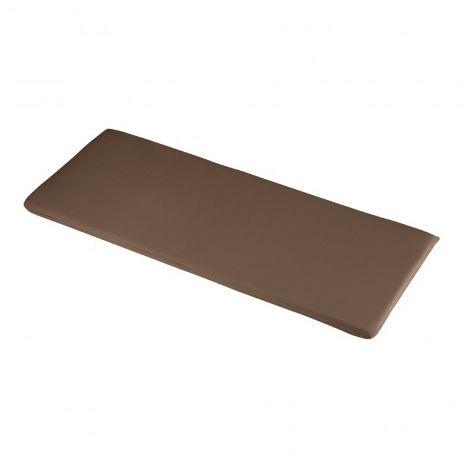 Chocolate 2 Seater Bench Cushions 116 x 46 x 4cm