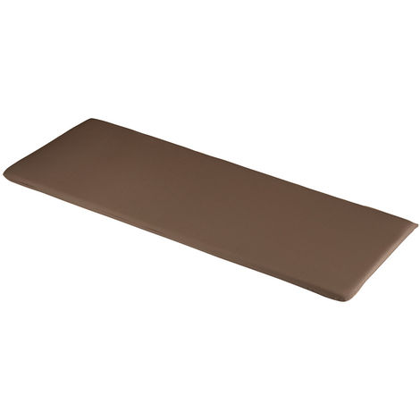 Chocolate 3 Seater Bench Cushions 141 x 48 x 4cm