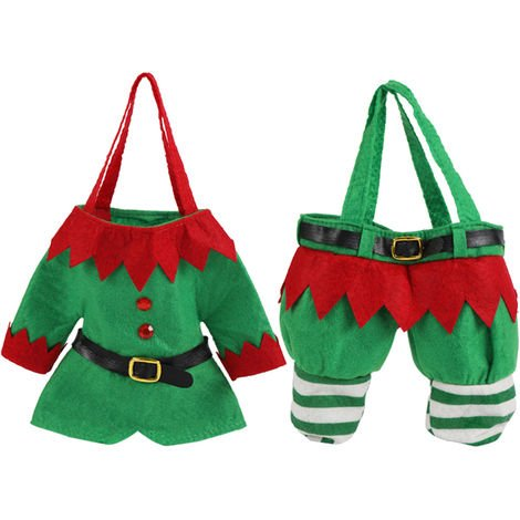Christmas Child Costume Infant Baby Girl Boy Xmas Santa Claus Elf Pattern Costume Reusable Photography Outfit