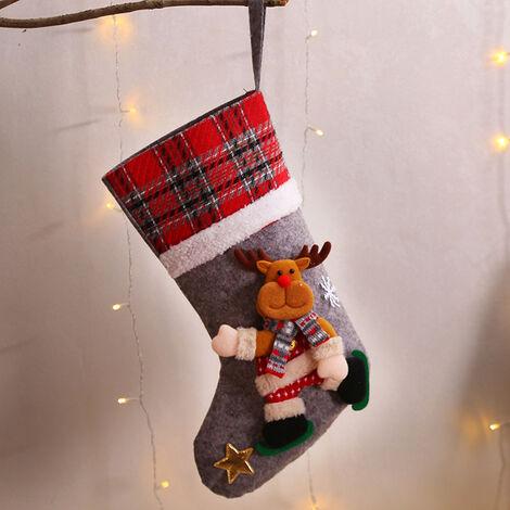 Christmas Doll Creative Socks Gift Bag Christmas Tree Pendant Decoration