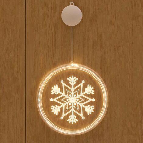 "main image of ""Christmas Lights Outdoor Christmas Decoration, Hanging 3D Christmas Tree Lights, Christmas Tree Garland for Indoor Outdoor Christmas Tree Bedroom Decorations Christmas Snowflakes"""