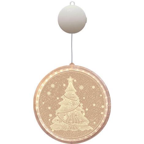 "main image of ""Christmas Lights Outdoor Christmas Decoration, Hanging 3D Christmas Tree Lights, Christmas Tree Garland for Indoor Outdoor Christmas Tree Bedroom Decorations Christmas Tree"""