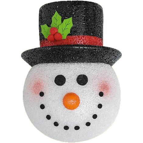 """main image of """"Christmas Porch Light Christmas Covers Snowman Lamp Shade Hallway Wall Lamp Porch Decoration Light Decoration Christmas Party Decoration Outdoor Decoration Holiday Gift"""""""