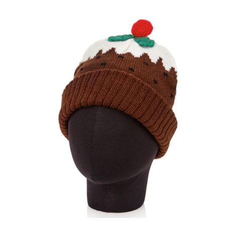 Christmas Pudding Hat - Adult size