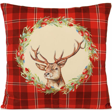Christmas Reindeer Pillow