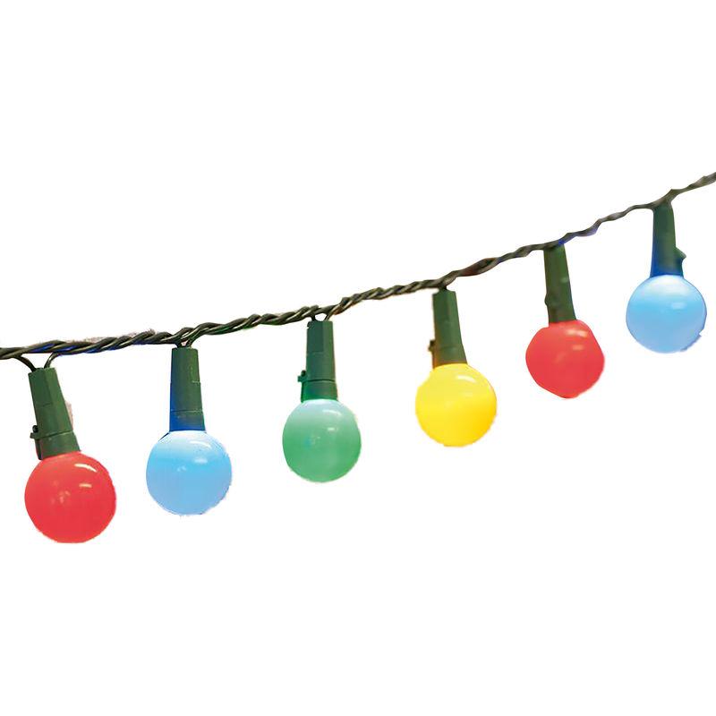Image of 50 Tough Berry String Lights (UK Plug) (One Size) (Multi Colour) - Christmas Shop