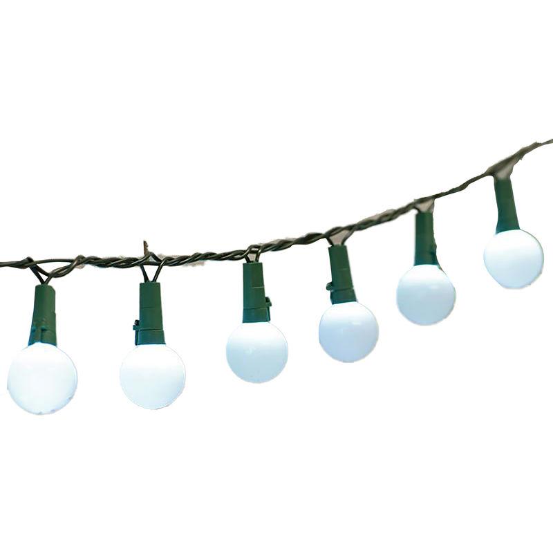 Image of 50 Tough Berry String Lights (UK Plug) (One Size) (White) - Christmas Shop