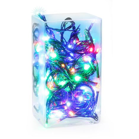 Christmas Shop LED Christmas Fairy Lights (100 Lights) (UK Plug)