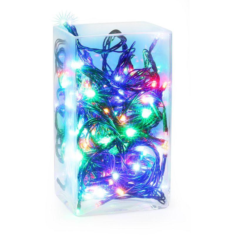 Image of Christmas Shop LED Christmas Fairy Lights (100 Lights) (UK Plug) (One size) (Mixed Colours)